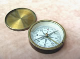 Victorian pocket compass by Negretti & Zambra London