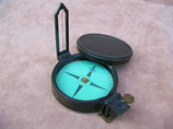 Late 19th century green card compass by Dollond London