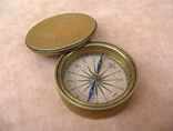 Antique pocket compass circa 1825